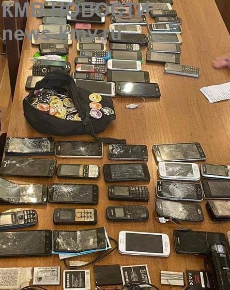 Во владикавказской ИК № 1 нашли 180 телефонов, колюще-режущие и другую запрещёнку