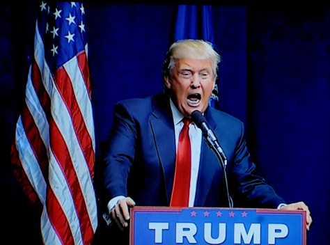 Donald J. Trump goes on the attack after a very bad week in which, gasp, his poll numbers fell © 2016 Karen Rubin/news-photos-features.com