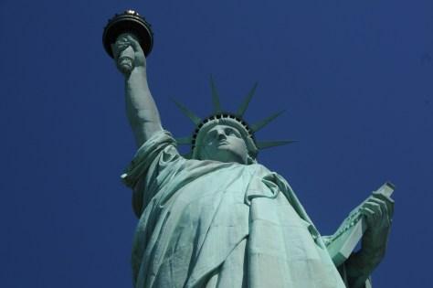 Statue of Liberty in New York Harbor © 2017 Karen Rubin/news-photos-features.com