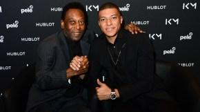 Pelé e Mbappé