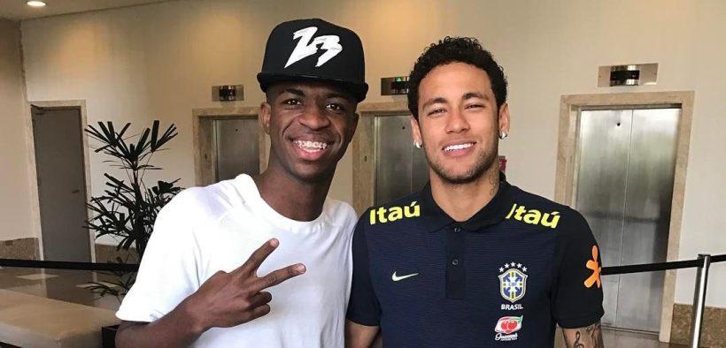 Neymar e Vinicius Junior