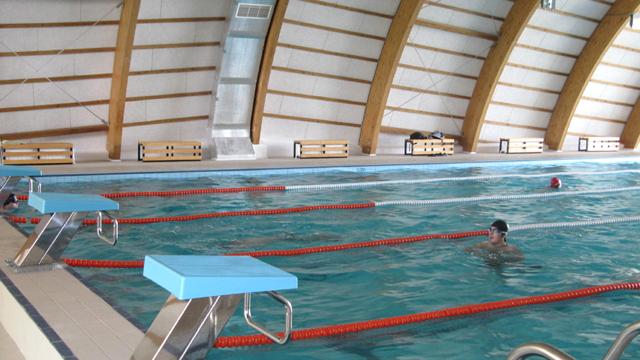 Saună la Bazinul de Înot