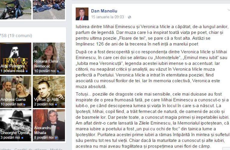 Încă un plagiat marca PSD, de data aceasta în vizor este tocmai președintele Dan Manoliu