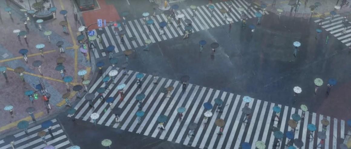 天気の子 ロケ地巡り(聖地巡礼)!交差点