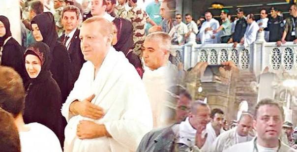 Эрдоган совершил умру в Мекке