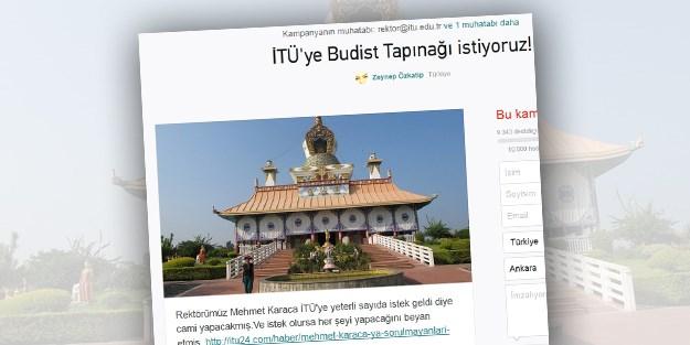 Студентам Стамбула нужен буддийский храм, а не мечеть