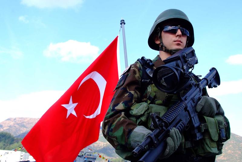 Турция отправила военных в Азербайджан на учения