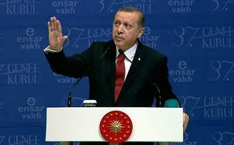 Эрдоган: «Джераттепе — второй Гези»