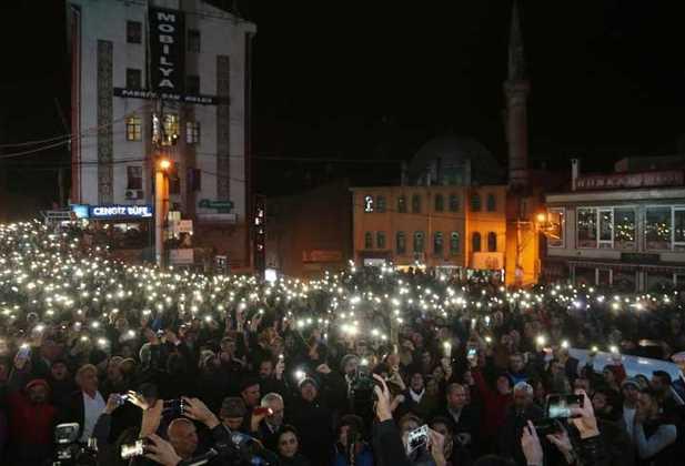 «Марш огней» прошел в Артвине