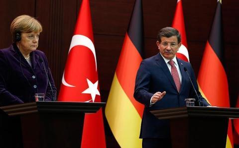 Ахмет Давутоглу встретился с Ангелой Меркель