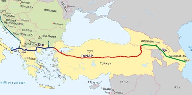 «TANAP положит конец зависимости Турции от российского газа»