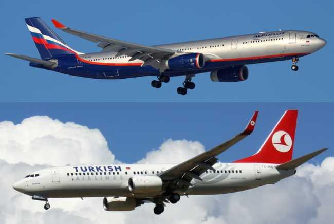 Россия возобновляет регулярное авиасообщение с Турцией