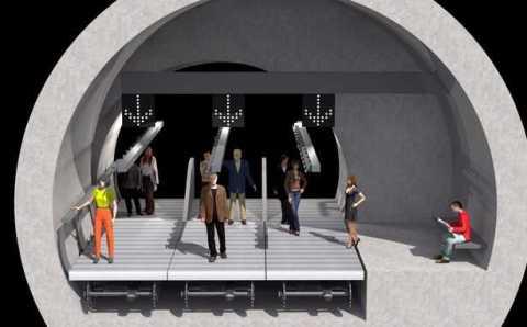 Новый мега-проект Стамбула: пешеходный переход под Босфором