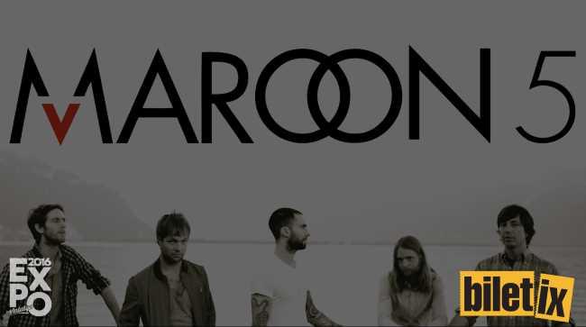 Maroon 5. Июнь 9. Экспо 2016