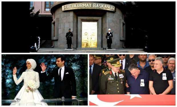 Генштаб вступился за Акара, посетившего свадьбу после похорон