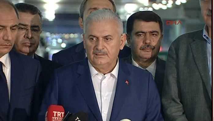 Премьер-министр: «В атаке на аэропорт Ататюрка погибли 36 человек»