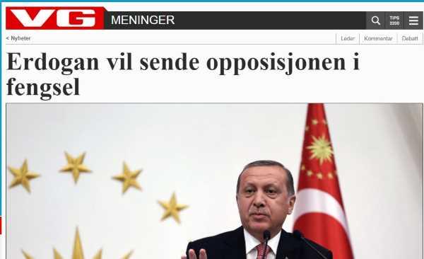 Эрдоган хочет отправить оппозицию в тюрьму