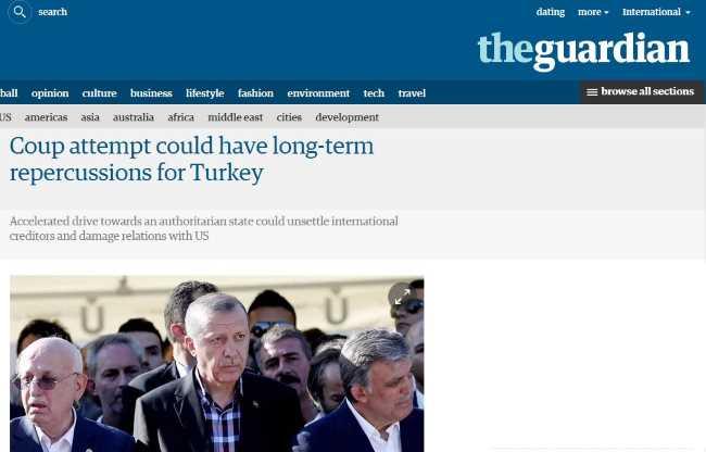 Попытка переворота может иметь долгосрочные последствия для Турции