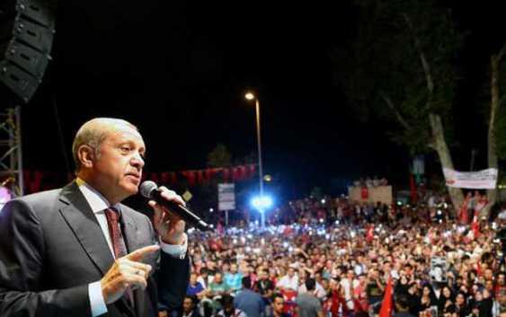 """Эрдоган: """"Казармы будут на месте парка Гези!"""""""