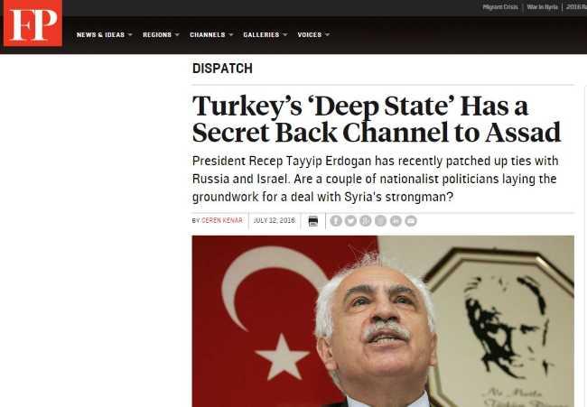 У турецкого «государства в государстве» есть тайный канал общения с Асадом