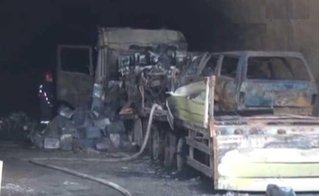 ДТП и пожар в тоннеле: 5 погибших