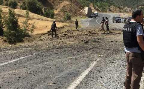 В результате третьего теракта погибли 3 военнослужащих