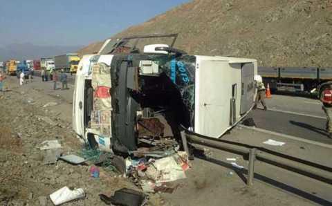 Перевернувшийся рейсовый автобус: 4 погибших, 31 пострадавший