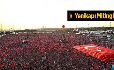 Митинг в Стамбуле: оппозиция, перекрытые дороги и концерт