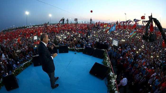 Эрдоган готов подписать закон о смертной казни