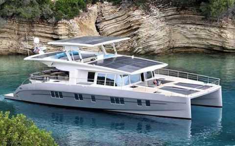 Анталийская верфь изготовила эко-яхту стоимостью $1.3 млн