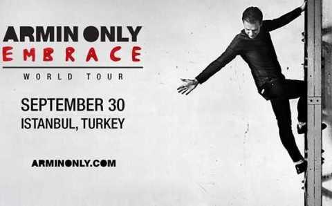 """Стамбул увидит мировой тур """"Armin Only Embrace"""""""