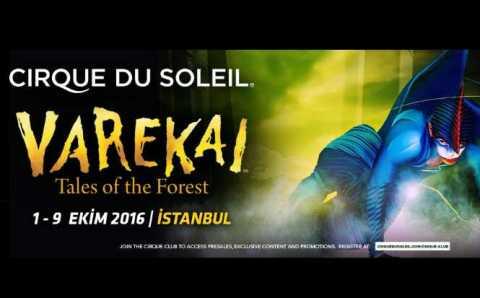 Легендарный «Cirque du Soleil» будет удивлять Стамбул