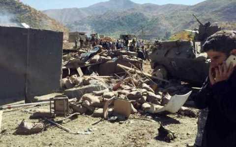 Взрыв у поста жандармерии: 18 погибших
