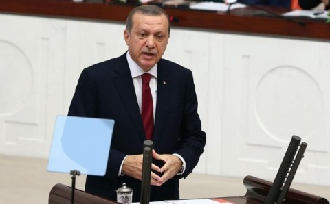 Эрдоган назвал ссору депутатов АКР и СНР позором