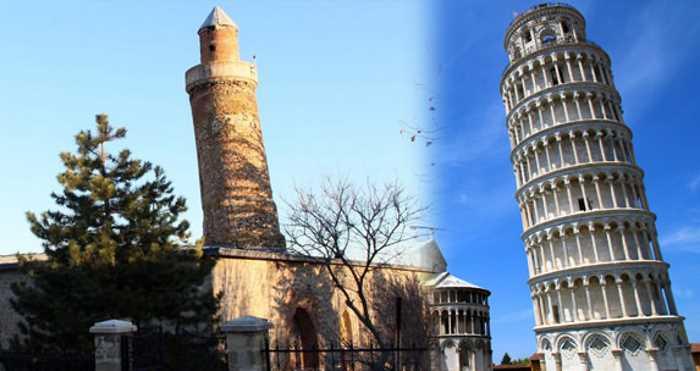 В Турции есть своя Пизанская башня