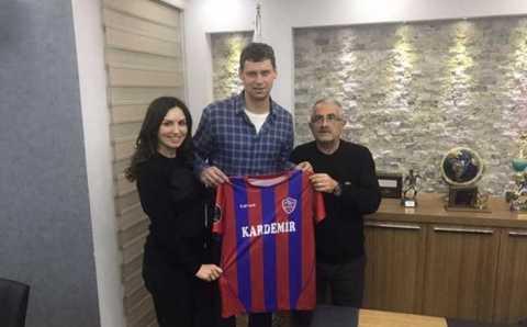 Александр Рыбка будет защищать ворота Карабюкспора