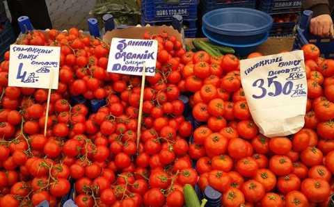 Россия сняла ограничения по компаниям для турецких томатов