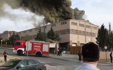 Взрыв на текстильной фабрике: 40 пострадавших