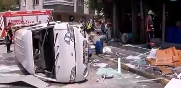 Взрыв в жилом квартале Стамбула: 1 раненый