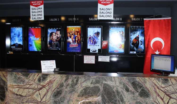 Турки стали реже ходить в кино и чаще в театры