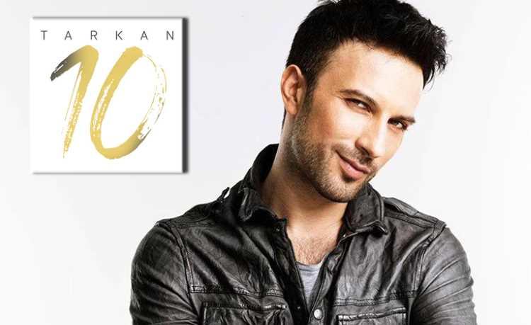 Новый альбом Таркана «10» уже на прилавках