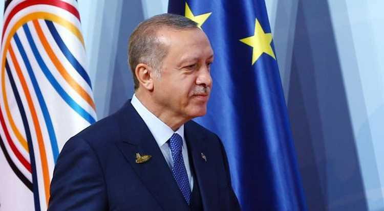 Эрдоган: Турция сохраняет решимость вступления в ЕС