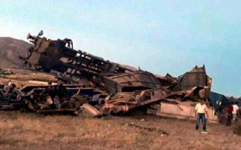 Сход поезда с рельсов: 2 погибших