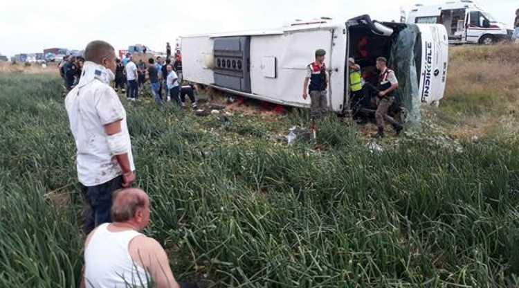 ДТП с участием автобуса: 40 пострадавших