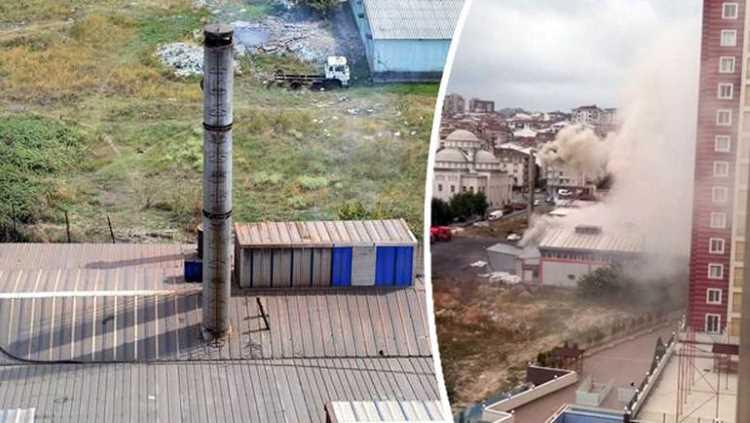 Фабрика в Стамбуле мешает нормальной жизни людей