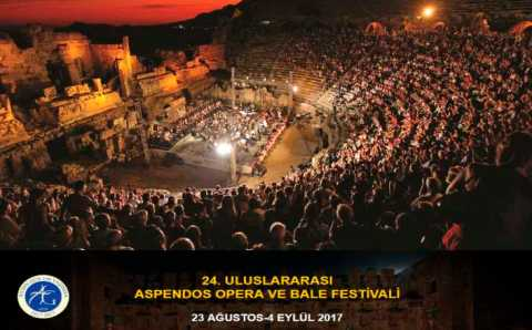 Балет и опера в стенах античного амфитеатра Аспендос