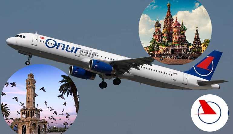 Onur Air намерен запустить прямой рейс из Измира в Москву