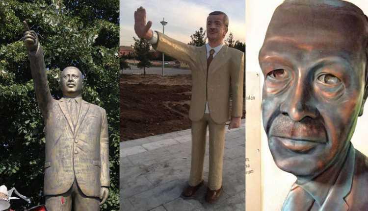 Эрдоган призвал не ставить ему памятников
