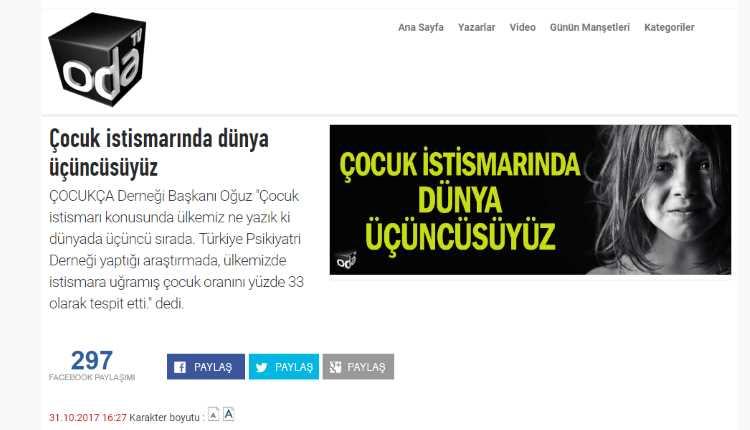 Турция — третья в мире по насилию над детьми