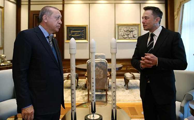 Илон Маск выведет на орбиту спутник Турции Türksat 6A